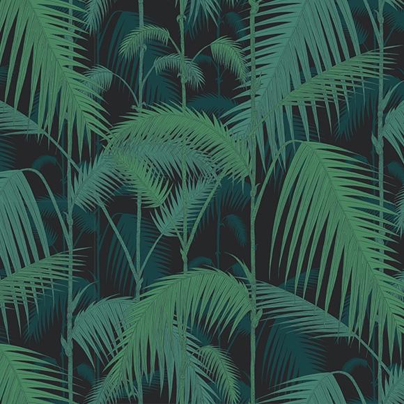 papier-peint-tropical-noir-vert-palm-junglea