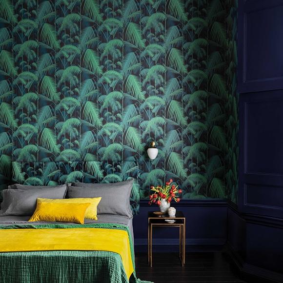 papier-peint-tropical-noir-vert-palm-jungleb